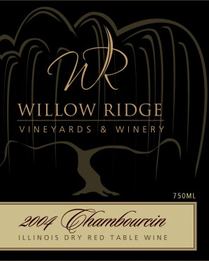 Willow Ridge Winery Chambourcin Wine