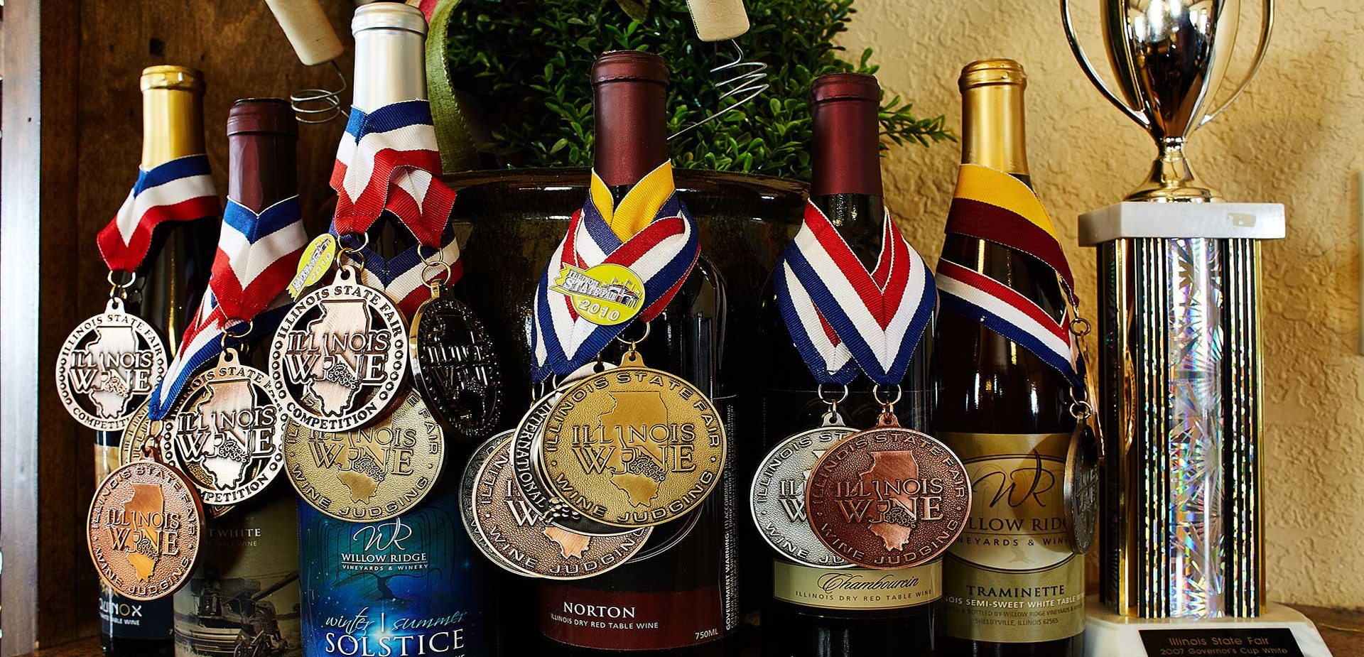 Willow Ridge Winery Award Winning Wine Illinois