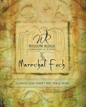 Willow Ridge Winery Marechal Foch