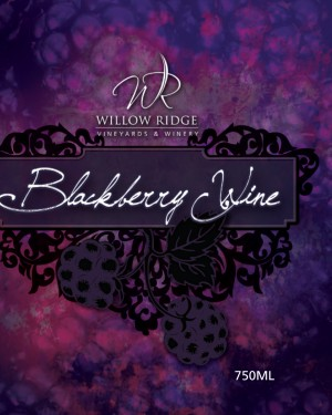 Willow Ridge Winery Blackberry Wine