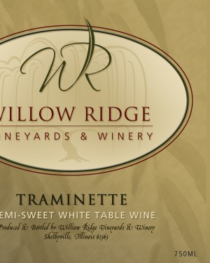 Willow Ridge Winery Traminette Wine