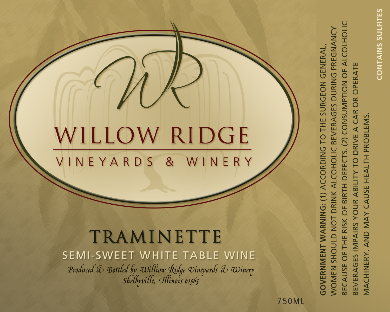 Willow Ridge Winery Traminette Wine