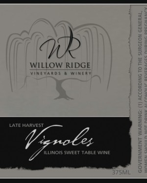 Willow Ridge Winery Sweet Vignole Wine